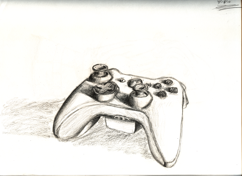 xbox 360 controller sketch - photo #18
